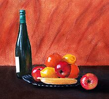 Fruits and Wine by Anastasiya Malakhova