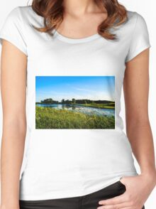 Bombay Landscape Women's Fitted Scoop T-Shirt