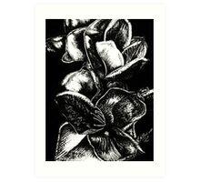 In Bloom - Silver Art Print