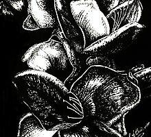 In Bloom - Silver by julieannart