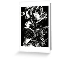 In Bloom - Silver Greeting Card