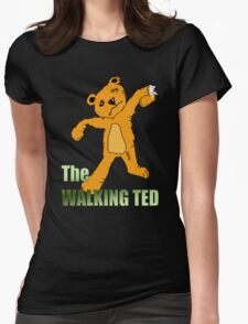The Walking Ted Womens Fitted T-Shirt