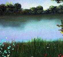 River Bank by Anastasiya Malakhova