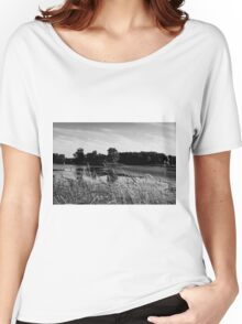 Bombay Landscape (B&W) Women's Relaxed Fit T-Shirt