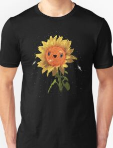 Sunflower In Space! Unisex T-Shirt