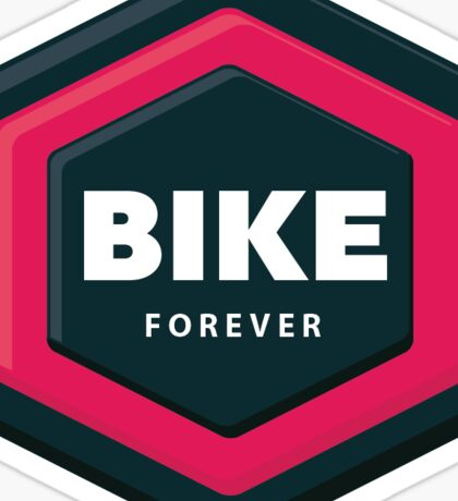 Bike Forever Sticker