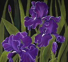 Irises by Anastasiya Malakhova
