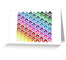 Upside Color Greeting Card