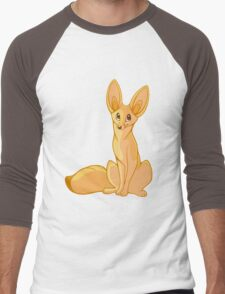 Fennec Fox Men's Baseball ¾ T-Shirt