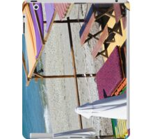 Terrace bar at the beach. iPad Case/Skin