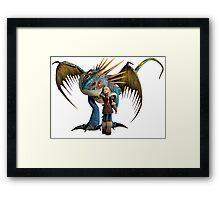 How to Train Your Dragon 01 Framed Print