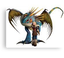 How to Train Your Dragon 01 Canvas Print