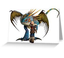 How to Train Your Dragon 01 Greeting Card