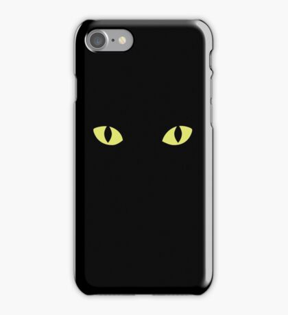 Cats can see at 1/6th the light level as needed by Humans iPhone Case/Skin