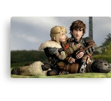 How to Train Your Dragon 04 Canvas Print