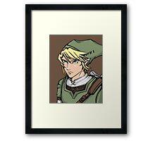 Link - Legend of Zelda Framed Print
