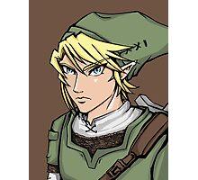 Link - Legend of Zelda Photographic Print