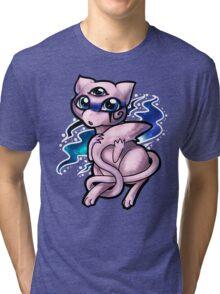 Pokemon - Mewniverse  Tri-blend T-Shirt