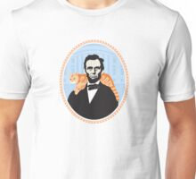 Lincoln was the first president to bring a cat to the white house. Unisex T-Shirt