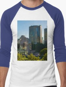 Hyde Park (Sydney): Sunrise Men's Baseball ¾ T-Shirt