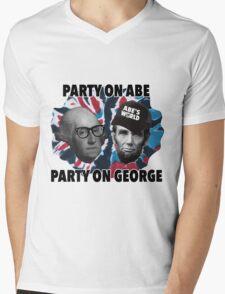 Abe's World Mens V-Neck T-Shirt