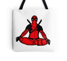 Deadpool: Your Meditation Guru Tote Bag