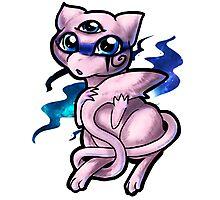 Pokemon - Mewniverse  Photographic Print