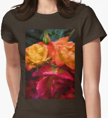 Rose 318 Womens Fitted T-Shirt