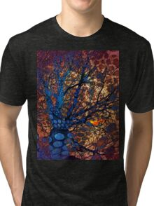 Autumn in The Magical Forest Tri-blend T-Shirt