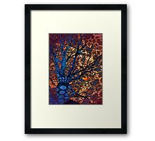 Autumn in The Magical Forest Framed Print