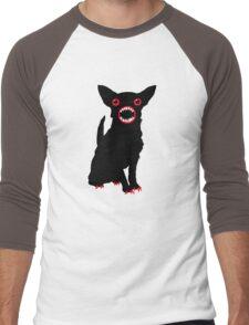 Black dog Men's Baseball ¾ T-Shirt