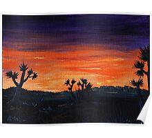 Desert Night Poster