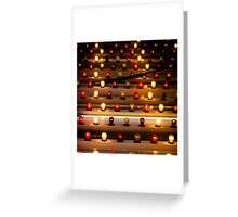 Bright Lights Greeting Card