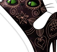 Black Cat of The Dead Sticker