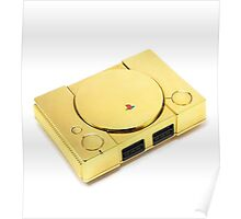 Gold Playstation Poster