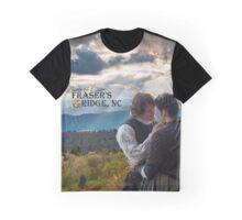 Outlander/Jamie & Claire on Fraser's Ridge. Graphic T-Shirt
