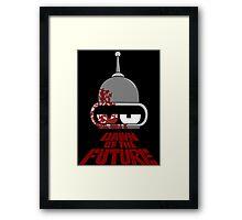 Bender Dawn of the Future - Dark Framed Print