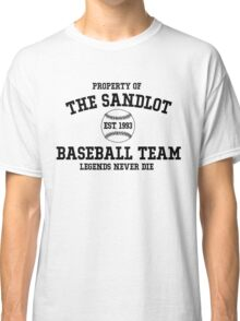 The Sandlot Baseball team Classic T-Shirt