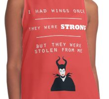 Maleficent Quote (Angelina Jolie) Contrast Tank