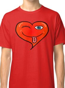 Playful At Heart -  Cute Child's Play - Cheeky Red Orange Classic T-Shirt