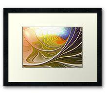 Wave Game Framed Print