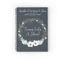 SEAMOS LEALES A JEHOVÁ! (NAVY BLUE) Spiral Notebook