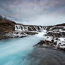 blue river by JorunnSjofn Gudlaugsdottir