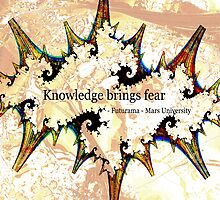 Knowledge Brings Fear by Anastasiya Malakhova