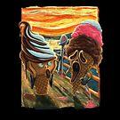 The Scream ICE CREAM SCREAMS by MudgeStudios