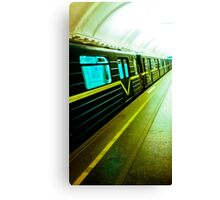The City subway. Canvas Print