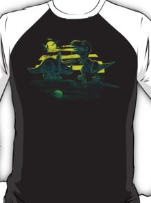 EPIC DINOSAUR BATTLE at Dawn T-Shirt