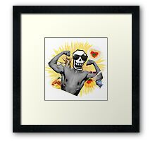 Papyrus The Spaguetti BOSS Framed Print