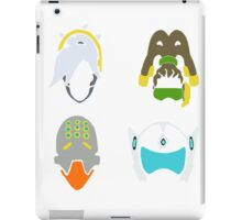 overwatch support icons iPad Case/Skin