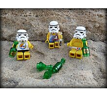 Stormtroopers Holiday Photographic Print